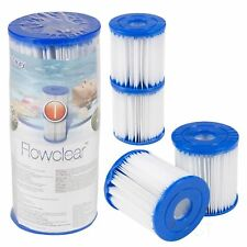 2/4/6Pcs For Bestway Replacement Filter Cartridge Swimming Pool Pump Easy Set Up