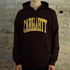 Carhartt Division Hooded Sweatshirt Hoodie Pullover – Damson - Brand New in M,L