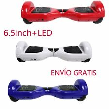 Eléctrico Scooter Patinete Self Balancing Monociclo HOVERBOARD Bluetooth LED MD
