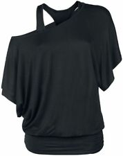 Gothicana by EMP When The Heart Rules The Mind Maglia donna nero
