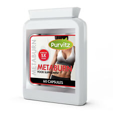Metaburn STRONG Fat Burners Speeds Up Metabolism Weight Loss Capsules LEGAL SAFE