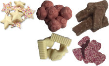 50/50 Chocolate Tools Fish and Chips Pigs Stars Hearts Jazzles Retro Sweets
