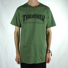 Thrasher Stock Mag Logo T-Shirt Tee – Army Green Brand New in size XL