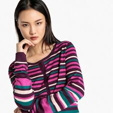 La Redoute Collections Donna Cardigan Basico A Righe