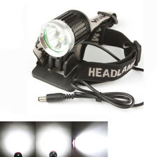 3 x Cree Xml T6 Led 3600LM Bicicletta Ricaricabile Luce 6500K Torcia Frontale
