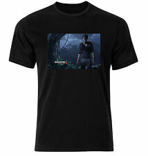 Uncharted 4 A Thief's End Game Tee Shirt - Gamers t Shirt - Black