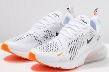 Nike Air Max 270 Just Do It White Black Total Orange Mens Trainers AH8050-106