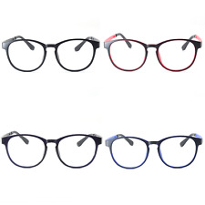 B8034 Acetate Super Light Weight Frames Anti Glare Anti Blue Ray Reading Glasses