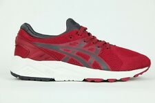 Junior Asics Gel Kayano Trainer Evo H5Y3N 2516 Lace Up Burgundy Trainers