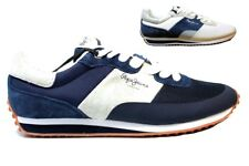 Pepe Jeans London PMS30405 Azul y Blanco Zapatillas Hombre Chaussure Casual