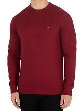 Tommy Hilfiger Men's Pima Cotton Cashmere Knit, Red