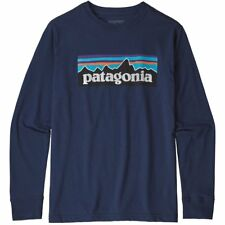 Patagonia Junior's P-6 Graphic Long Sleeve T Shirt