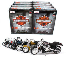 Harley Davidson Maisto Assembly line 1:18 collectible models motorcycle
