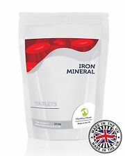 Ferro Minerale 14 Mg Fe Supplemento 30/60/90/120 /180/250 Compresse Pillole