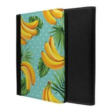 Todo Tropical Plátano Blue Spot Funda Libro para Apple iPad - S707
