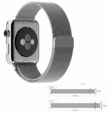 zaCinturino PER Apple Watch iWatch 42 mm Milanese Magnetico Loop ACCIAIO
