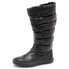 0494X stivale bimba girl MONCLER JUNIOR scarpe black shoe boot