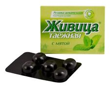 Natural Organic Chewing Gum Siberian Cedar Resin with mint flavor 5g