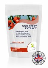 Goji Berry Extract 3000mg 30/60/90/120/180 Tablets Pills Supplements