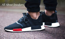 c400a774c9d38 Adidas NMD Runner Boost NMD R1 Black White Red Limited one AQ4498 YOGI UK  6.5