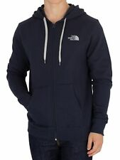 The North Face Uomo Felpa con logo aperto, Blu