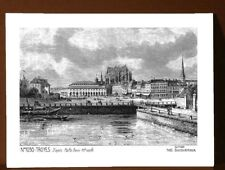 CP A 10030 CARTE POSTALE DESSIN 10 TROYES