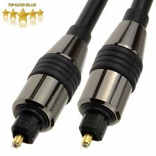 Black TOS Link TOSLink Optical Digital Audio Cable 6mm Lead [006999] Wholesale