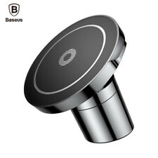 Baseus® Car Mount Qi Fast Wireless Charger For IPhone X 8 Samsung Note 8 S9 S8