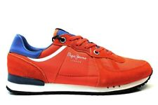 Pepe Jeans London PMS30415 Naranja Zapatillas Hombre Chaussure Casual Deportivo