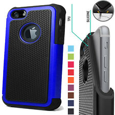 Durable Rigid Shock-Proof Silicone Back Case Cover For Apple Eight (PLUS)  8,8+