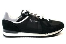 Pepe Jeans London PMS30415 Negro Zapatillas Hombre Chaussure Casual Deportivo