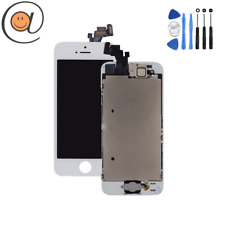 LCD Rétina + Vitre tactile complet iPhone 5 / 5G / 5S / 5SE Blanc / Outils