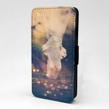 Ballet Diseño Estampado Funda Libro para Apple Iphone - P1072