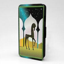 Árabe Estampado Caballo Diseño Funda Libro para Apple Iphone - P42