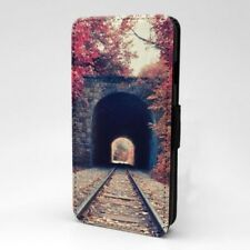 Fall Hojas Diseño Estampado Funda Libro para Apple Iphone - P999