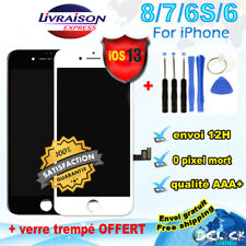 ECRAN LCD CHASSIS VITRE TACTILE iPHONE 7/ 8/ 6/ S  SCHERM SCREEN DISPLAY  Outils