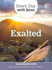 Every Day With Jesus Wall Calendar 2019: Exalted