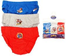 Boys Briefs 3 Pack Marvel Spiderman Cotton Slip Pants Underpants 2 to 8 Years