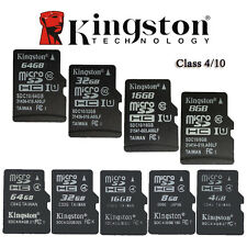 Kingston 16GB 32GB 64GB Micro SD SDHC classe 4 Class10 TF scheda di memoria SDXC
