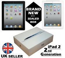 "NEW Apple iPad 2 2nd Generation 16GB 32GB Wi-Fi 3G Unlocked 9.7"" WHITE & BLACK"