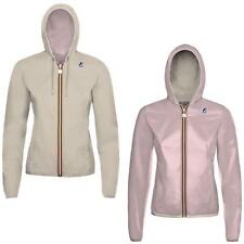 KWAY GIACCA LILY PLUS DOUBLE GIRL- BEIGE/ROSA - K002XN0B-A83