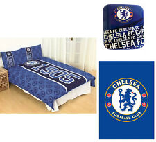 Chelsea Football Club FC Established Doppio Biancheria da Letto Piumino Tappeto