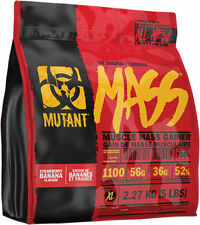 PVL MUTANT MASS WEIGHT GAINER PROTEIN MUSCLE GAIN SHAKE 2.2KG ***NEW***