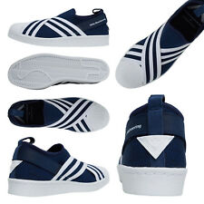 adidas OG xWhite Mountaineering Superstar Trainers Navy BY2879 UK 8.5 & 9