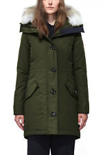 REDUCED: Canada Goose Rossclair Parka Military Green for Women
