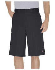 Dickies Noir Travail Court 42283 33cm Coupe Ample Multi Poche Tailles 30 To 44