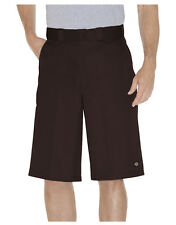 Dickies Marron Travail Court 42283 33cm Coupe Ample Multi Poche Tailles 30 To 44