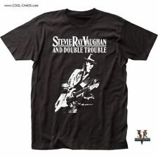 Stevie Ray Vaughan T-Shirt / Stevie Ray Vaughan & Double Trouble Guitar Tee