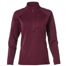 Rab Nucleus Pulll-On - Eggplant - Womens Fleece Pullover