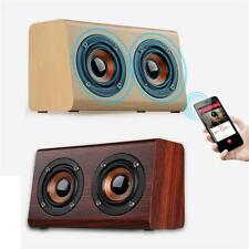 W7 Altavoz Bluetooth inalambrico portatil Altavoz dual portatil de mad PB